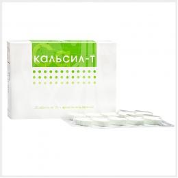 Калсил -Т източник на калций, магнезий, витамини А, Д3 и Е