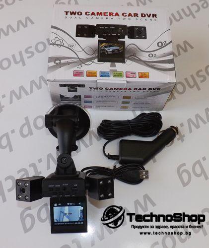 DVR Видео регистратор с 2 камери