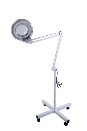 Лампа лупа с подвижна стойка