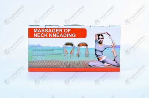 ШИАТЦУ МАСАЖОР - SHIATSU масажор за врат, рамене и гръб