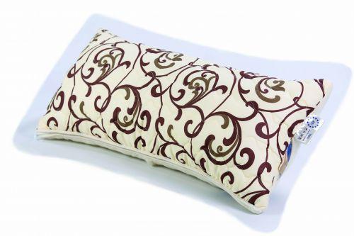 Калъфка за възглавница от памук и мериносова вълна