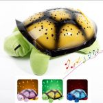 Музикална детска нощна лампа  - костенурка