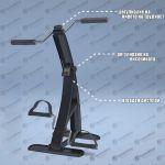 Колело за трениране на ръцете и краката у дома - MSG Dual Bike Pro